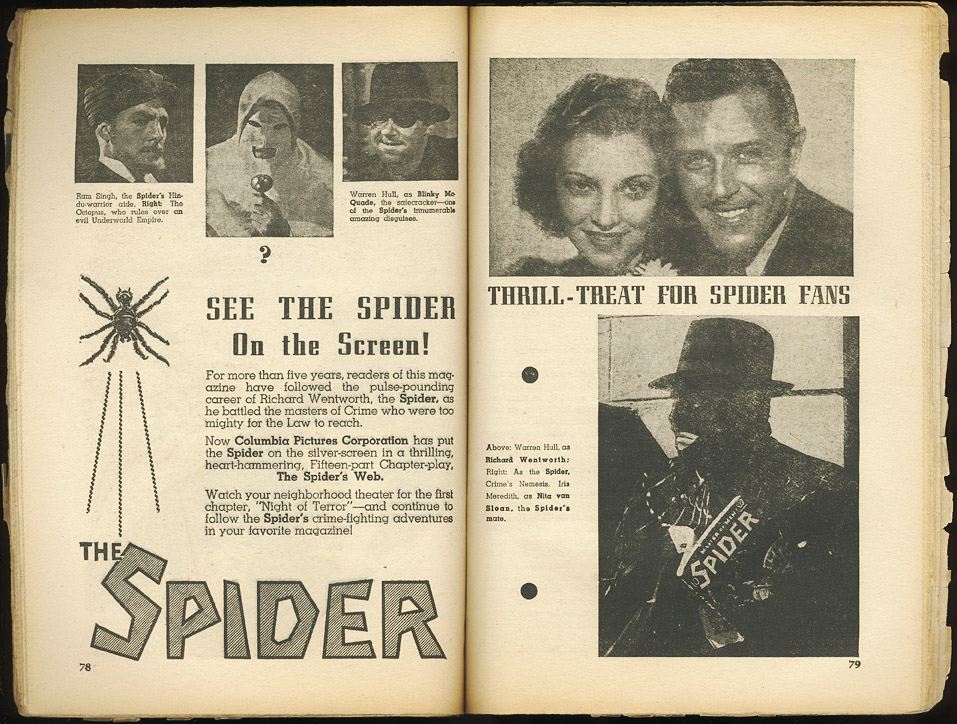 The Spider's Web ad