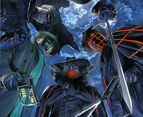 Masks #1 cover by Alex Ross