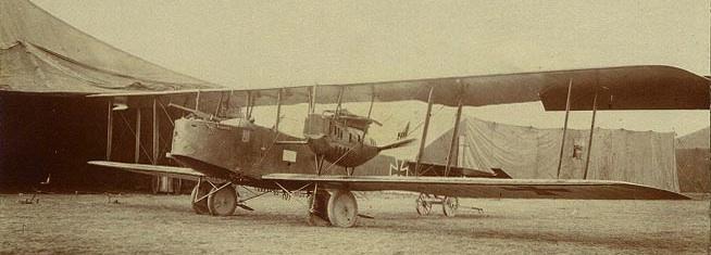 Friedrichshafen G.III Bomber